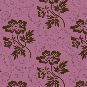 Country Day Floral Pink 109cm