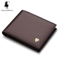#M-017-Fashion Cow Leather Slim Designer High Quality Leather Wallet