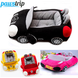 #PC-010-Cool Dog Car Beds Detachable PP Cotton Padded Small Dog House Waterproof Bottom Puppy Bed
