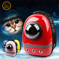 #PC-011-Pet Supplies Space Capsule Shaped Bag Pet Carrier Breathable Backpack