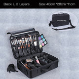 #B-006-High Quality Travel Makeup Organizer Cosmetics Pouch Bag