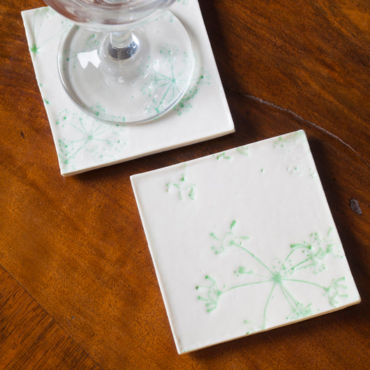 Lime Green Coasters