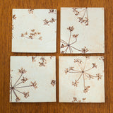 Chocolate Brown Coasters