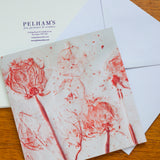 'Pink Roses' gift card