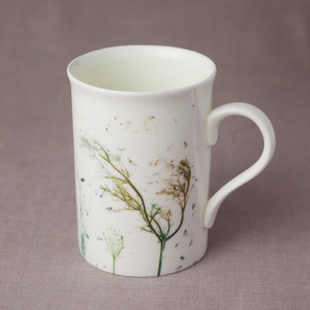 Tall 'Green Grasses' Mug