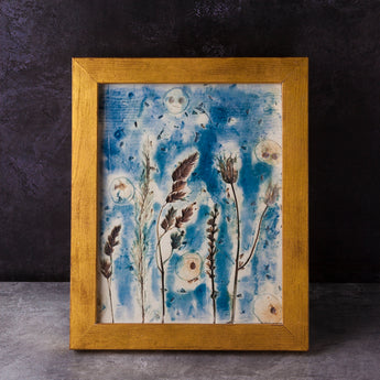Autumn Breeze Porcelain Picture