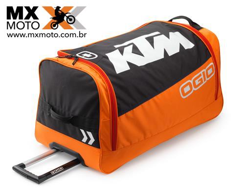 Mala de Equipamento com Rodinhas Original KTM Modelo 2018 KTM Corporate Gear Bag - 3PW1871000