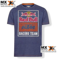 Camisa Casual Red Bull / KTM ORIGINAL Modelo - Red Bull Racing Team Mosaic Graphic Navy ( azul escuro )- 3RB19000100X
