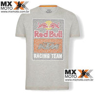 Camisa Casual Red Bull / KTM ORIGINAL Modelo - Red Bull Racing Team Mosaic Graphic ( Cinza )- 3RB19000260X