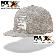 Boné Red Bull / KTM Original Racing Team 9Fifty Cinza / Aba reta - 3RB190003100