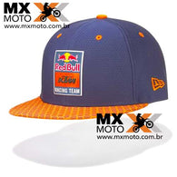 Boné Red Bull / KTM Original Racing Team 9Fifty HEX New Era - Azul ( navy ) / Laranja / Aba reta - 3RB190003200