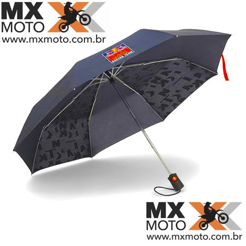 Guarda Chuva de Bolso Azul Escuro Original KTM RedBull Racing Team - 3RB190004200