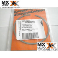 Anel de Compressão do Pistão D= 76mm Original KTM 250 4T - 05-13 / Husaberg 13- 77030030200