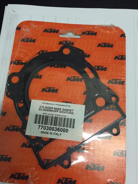 Junta do Cabeçote Original KTM 4T 250 05-13 Metal - 77030036000