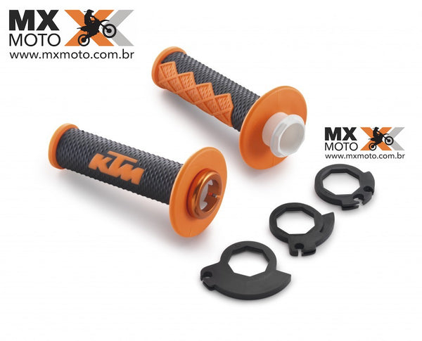 Punho / Manopla LOCK ON ODI Original KTM até 2016 - Dual Compound Diamond - 78102924000