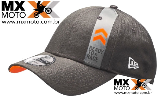 Boné KTM Original Ready to Race Pure by New Era 9forty- Preto / Aba Arredondada - UPW1973100