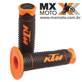 Punho / Manopla Original KTM Dual Compound Diamond Para Motos ate 2016 - 78102021000