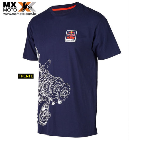 Camisa Casual KTM / Red Bull ORIGINAL Modelo - FACTORY RACING ENGINE - URB156210X
