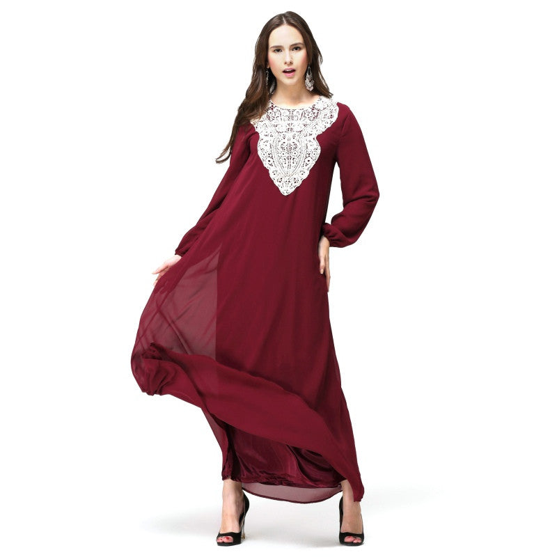 Sara Premium Embroidered Abaya