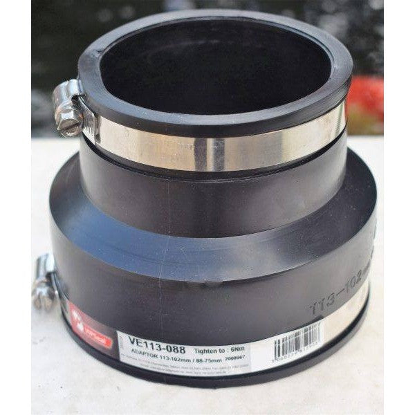 Flexible Rubber Boot Reducer