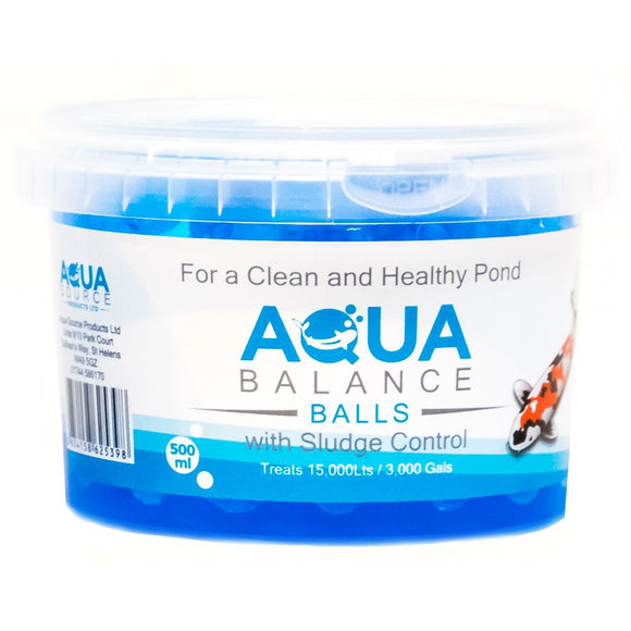 Aqua Ballance Balls help smooth out Ammonia and Nitrite spikes