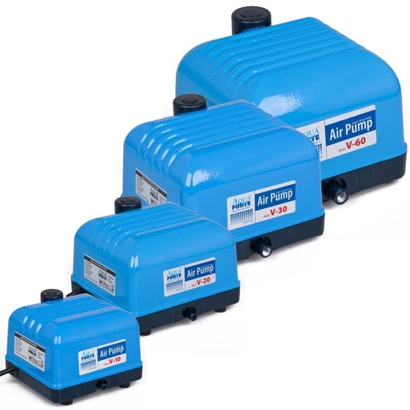 Aqua Forte V series Air Pumps inc Sets with line & Stones