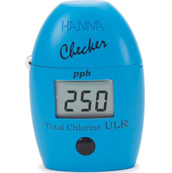 HANNA Total Chlorine Ultra Low Range Handheld Colorimeter