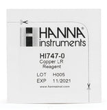 HI-747-25 Reagents for HI-747 Copper Low Range Checker