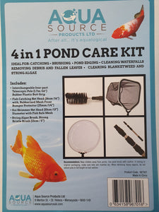 Aqua Source 4 in 1 Pond Care Kit