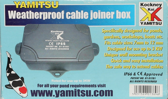 Kockney Koi Weather Proof Cable Joiner Box