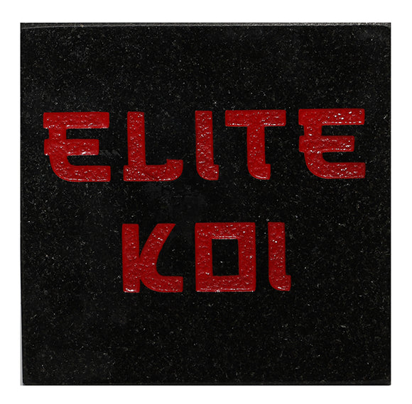 Elite Koi Personalised Coaster
