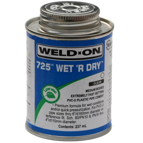 Wet R Dry Solvent Weld Glue - Koi Pond Build Essentials