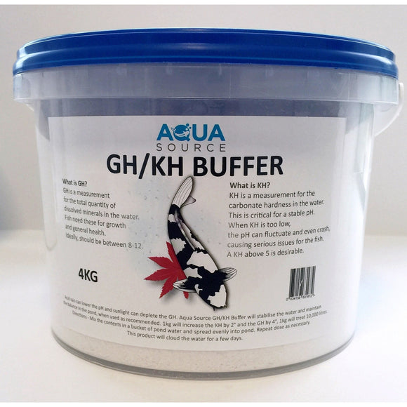 Buffer for acid rain - low ph - koi fish ponds - for sale grimsby
