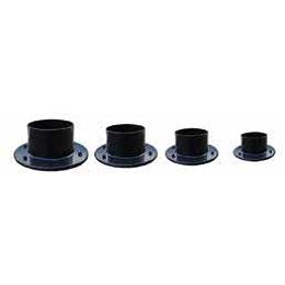 Black Solvent Weld Flanged Tank Connectors