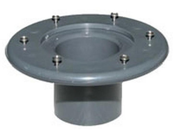 Flanged Tank Connector (Grey Pressure Pipe fitting)