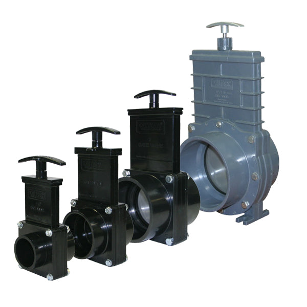 Valterra Slide Gate Valve - Shuts off flow easily from your pond whilst cleaning filters