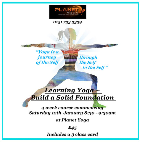 Yoga -Build a Solid Foundation Jan 2019