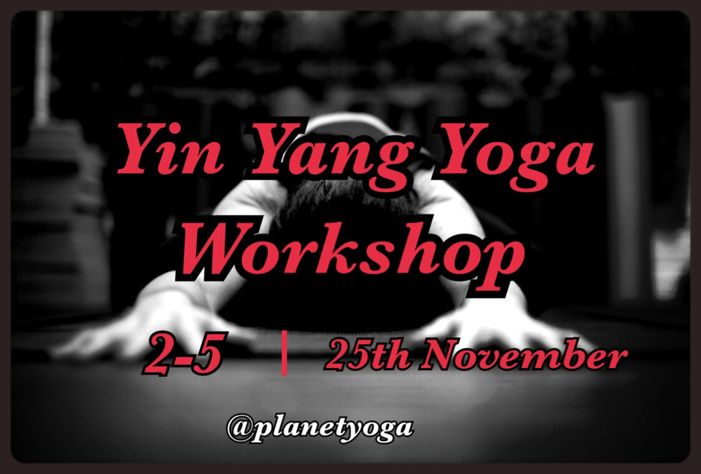 Yin Yang Yoga Workshop