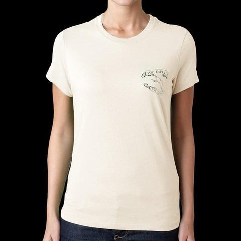 'Freedom Run' Cream Ladies T-Shirt