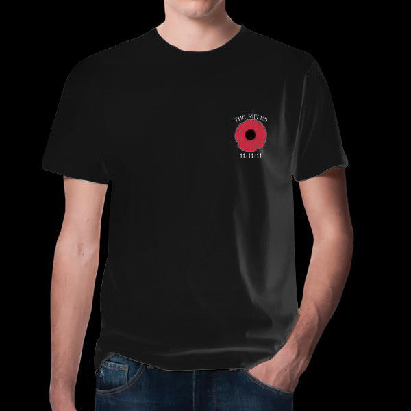 Poppy Black T-Shirt