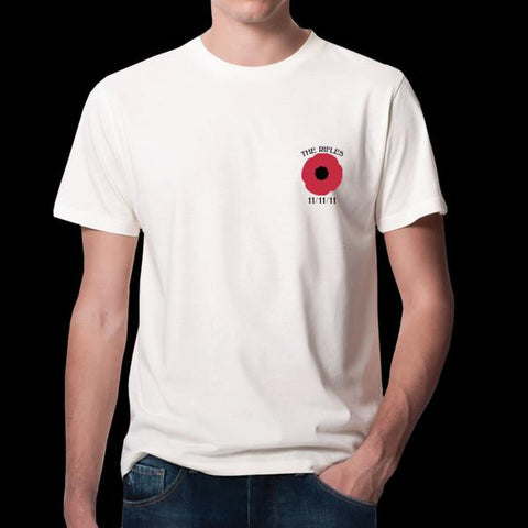 Poppy White T-Shirt