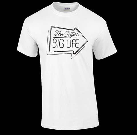 'Big Life Album Art' Mens White T-Shirt