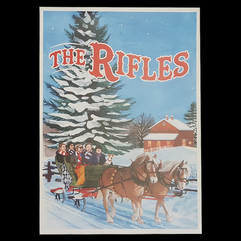 The Rifles Christmas Large Print