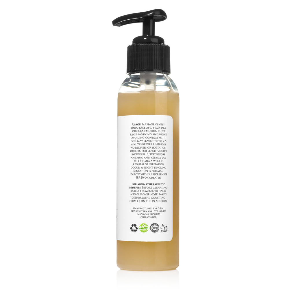 Renew Organic Facial Cleanser