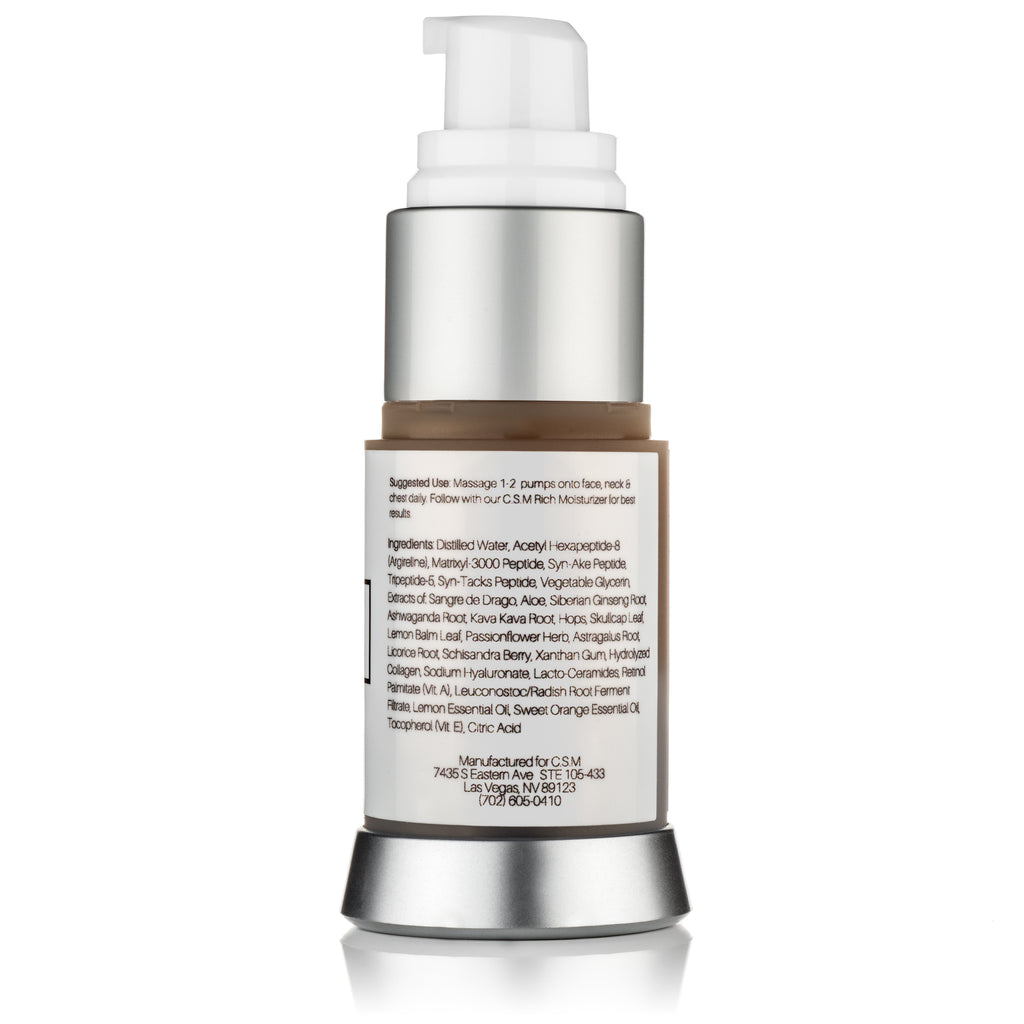 REVERSE Hyaluronic Acid & Collagen Serum w/ Matrixyl 3000 & Argireline - Complete Eye Cream, Wrinkle Serum & Collagen Booster