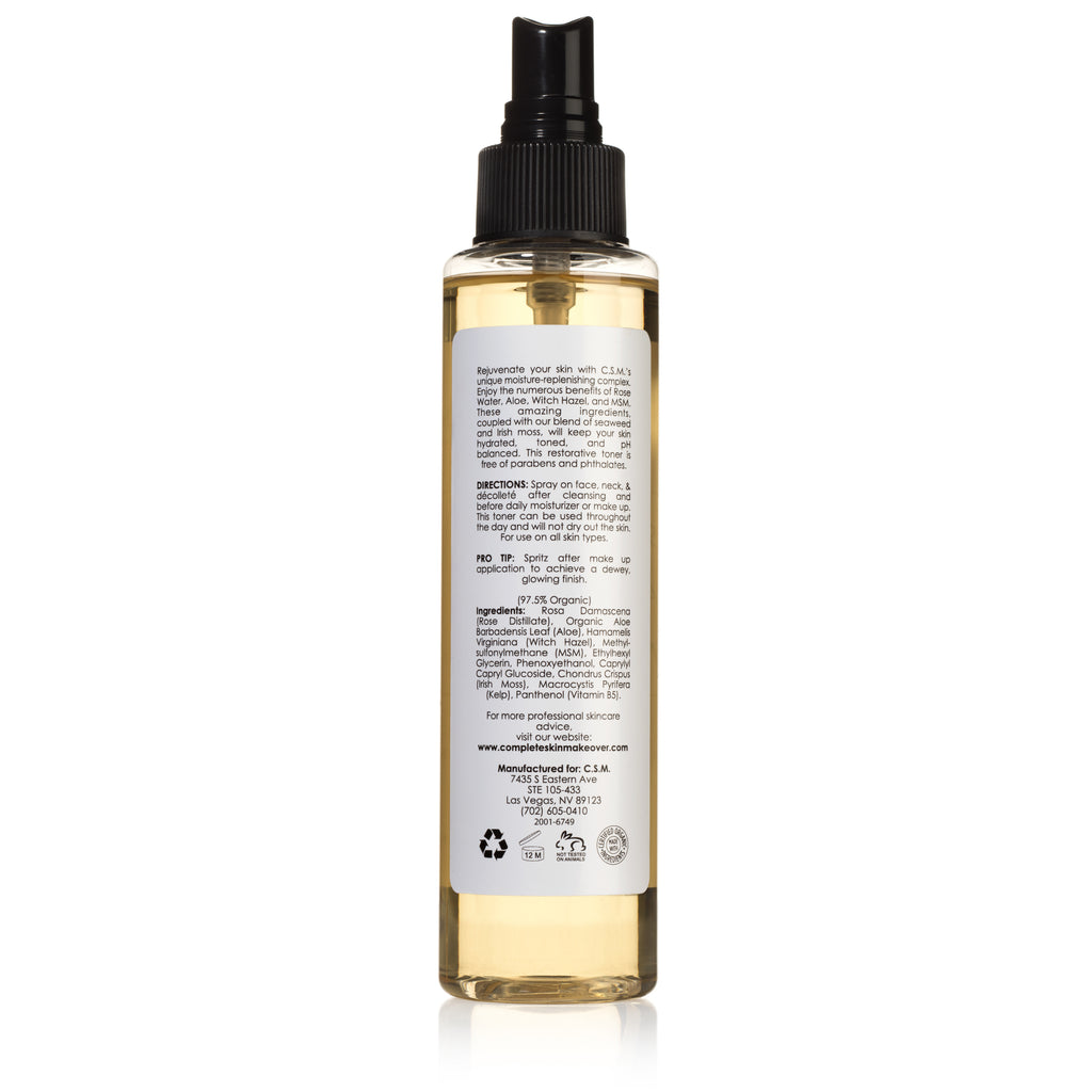 C.S.M Rose Aloe Witch Organic Facial Toner