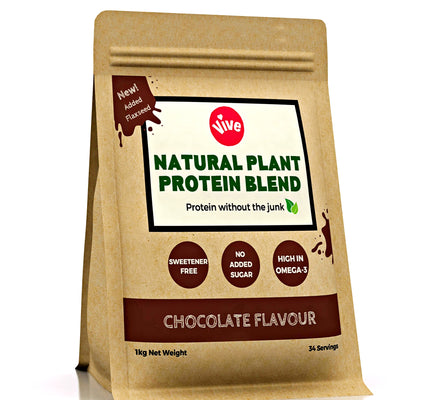 Sweetener-Free Vegan Protein Powder, Chocolate