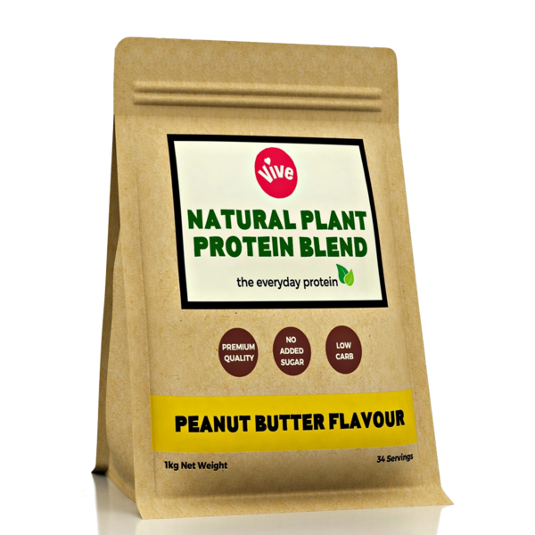 Vegan Protein Powder Blend, Peanut Butter Flavour