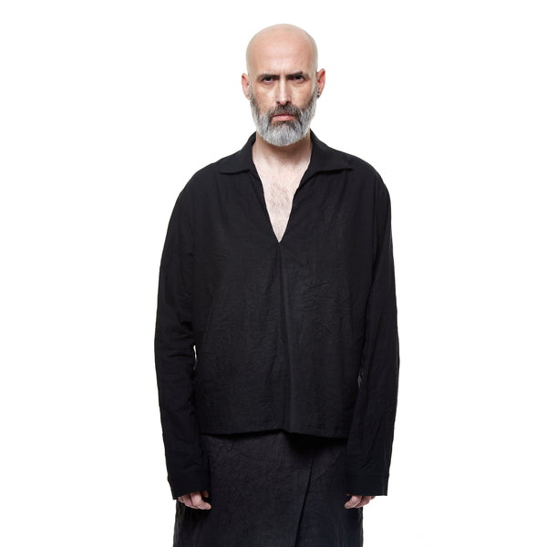 CASSEGRAIN  SHIRT - BLACK