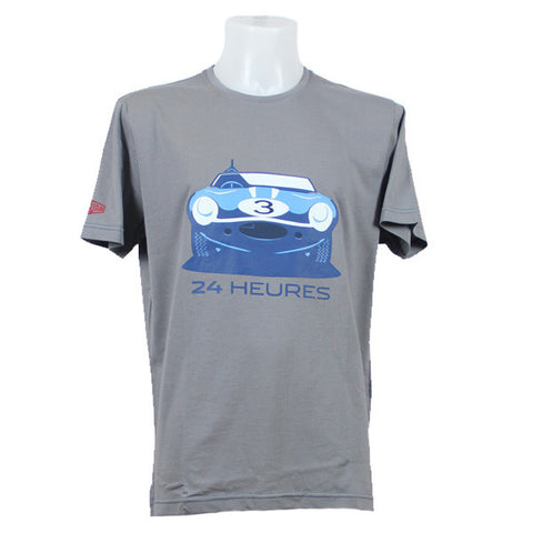 Jaguar Heritage '57 Graphic 24 Heures T-Shirt – Grey